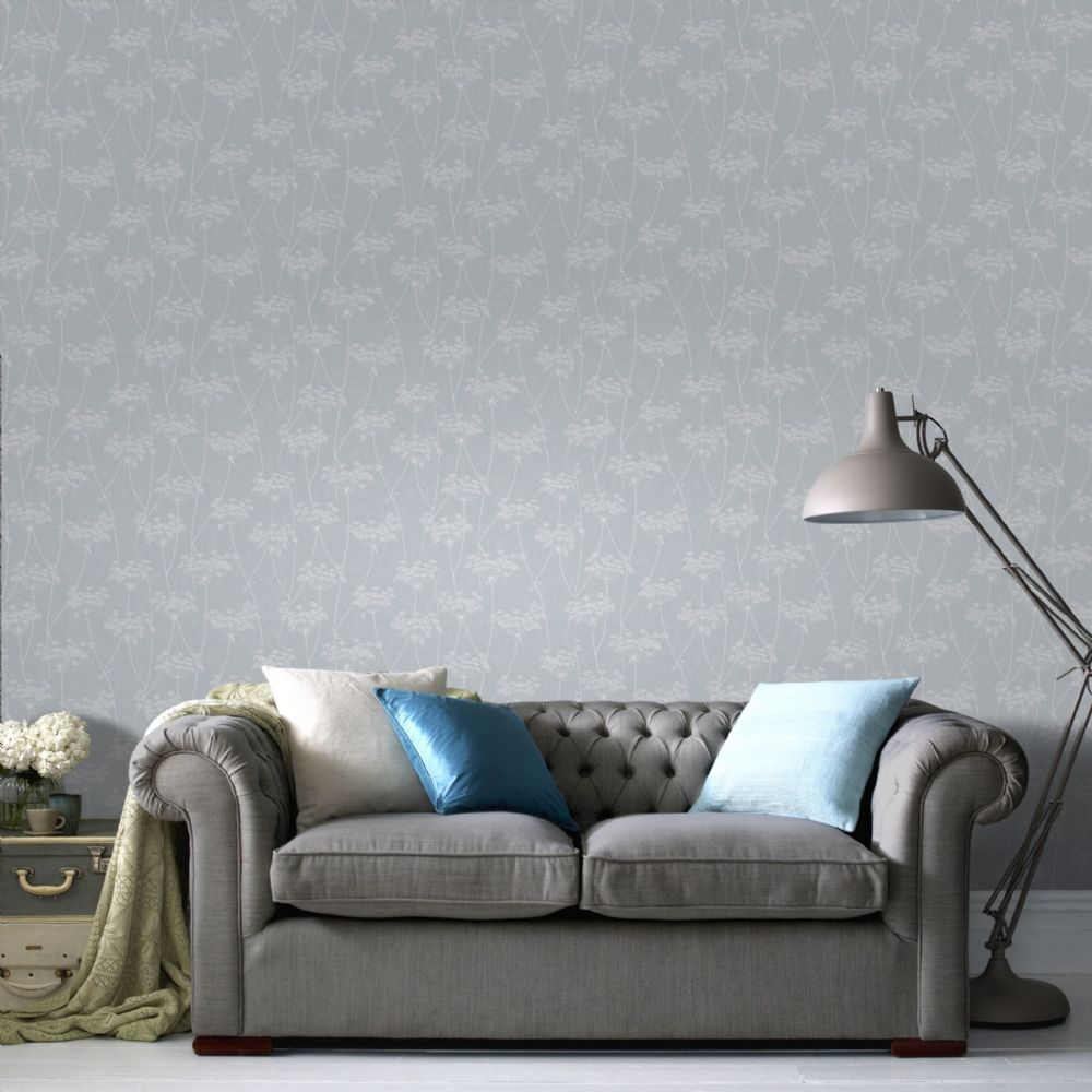 Graham and Brown Aura Blue 33-302 Wallpaper